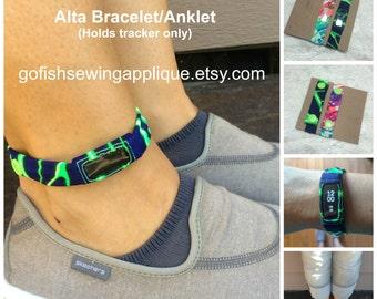 Fitbit Alta band, Alta bracelet, Alta anklet, Alta sleep band, Fitbit sleep band, Custom sized, Wearable Tech