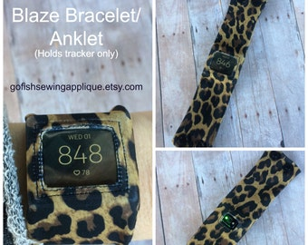 Blaze, Fitbit Blaze comfort bands, custom made to order, Fitbit Wearable Tech