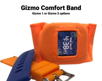 GizmoWatch 1, GizmoWatch 2, Verizon GizmoWatch 1 or 2 comfort band, custom made to order, you choose color and size