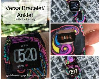 Fitbit Versa comfort band, Versa lite, Versa 1, Versa 2, Versa 3 custom made to order, wearable tech jewelry
