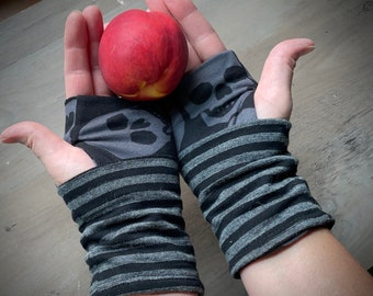 """Wrist warmers, fingerless gloves, """"style #2"""" ready-to-ship, custom available"""