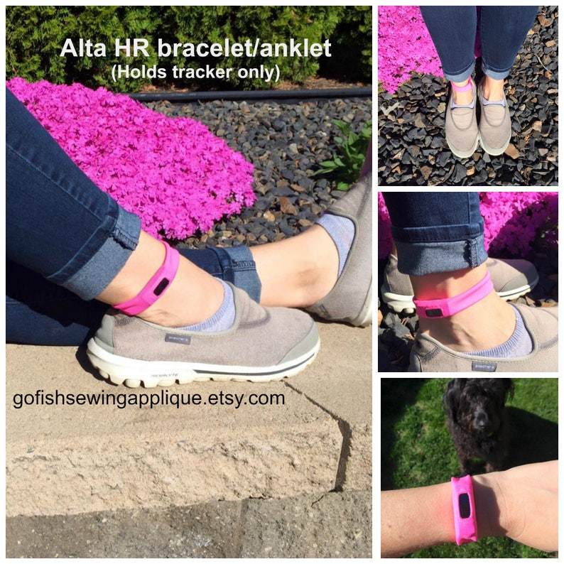 Fitbit Alta HR comfort band, custom made to order, you choose color,  Wearable Tech