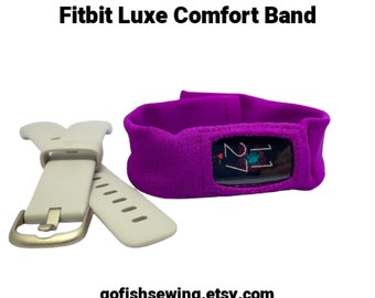 LUXE Fitbit comfort band, CUSTOM MADE to order, you choose color, size, bracelet, anklet or combination bracelet/anklet