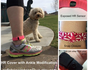 Fitbit Charge HR band cover for ankle, Charge HR band fix, Charge HR Sleep band, Fitbit Sleep band, Wearable Tech