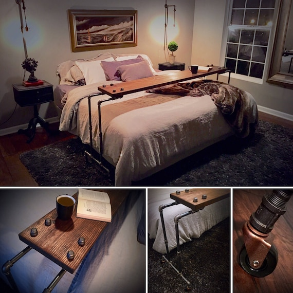Netflix Amp Chill Rolling Over The Bed Table Laptop Lap Desk