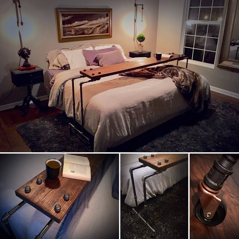 Netflix Chill Rolling Over The Bed Table Free Shipping Etsy