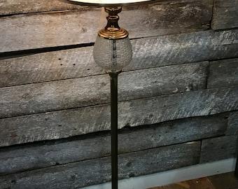 Vintage  Floor Lamp and shade  / Midcentury