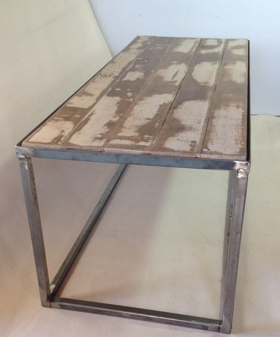 Industrial Style Coffee Table/ Bench /handmade From Square