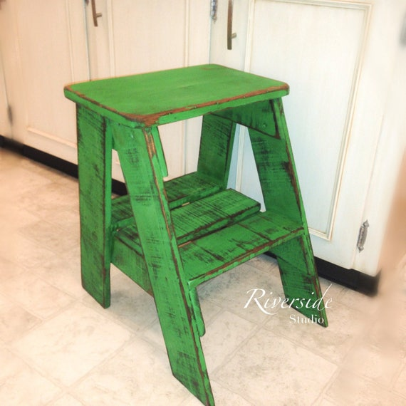 Fabulous Wood Step Stool Large Step Ladder Bedroom Side Table Rustic Kids Kitchen Stool Childs Step Stool Wooden Step Stool Caraccident5 Cool Chair Designs And Ideas Caraccident5Info