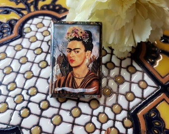 FRIDA KALO Pin // Pin // Artist  // Mexican Lottery // Gift // Mexican // Latinx