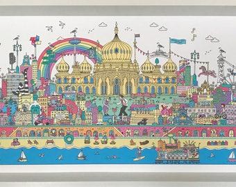 Brighton Fun artwork Print
