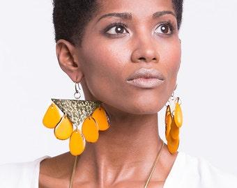 Chandelier Earrings, Dangle earrings, Bohemian earrings, Boho earrings, Long Earrings, Tribal earrings, Ethnic earrings, Gypsy earrings