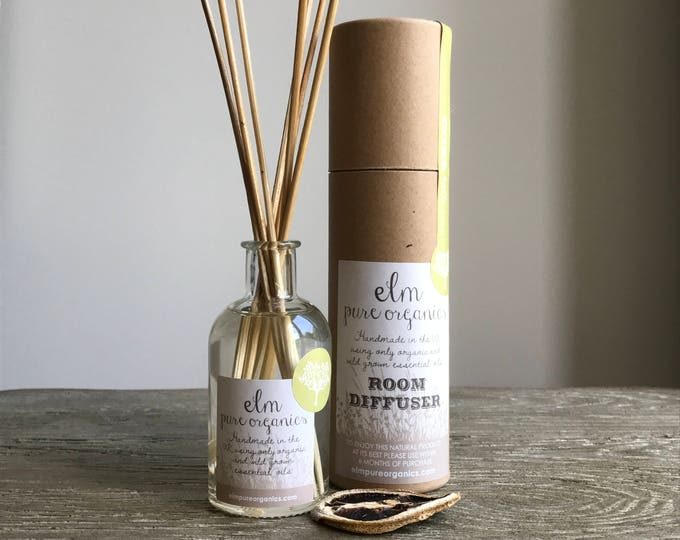 Dakota Meadow Organic Reed Diffuser. Oil reed Diffuser