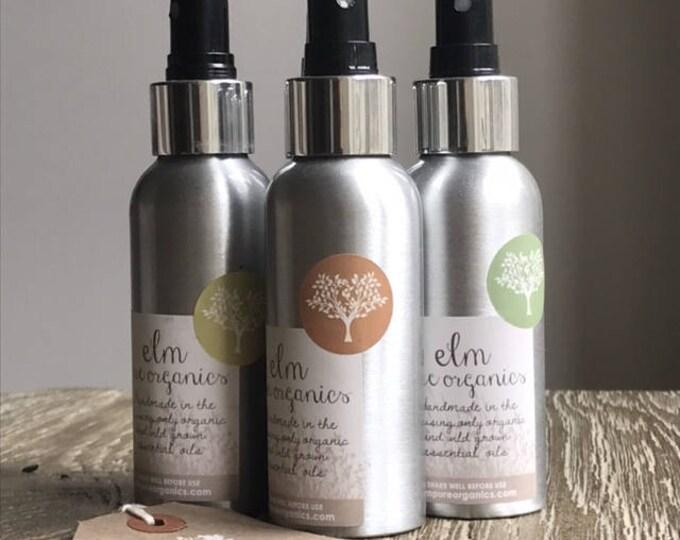 Organic Room Spray Home Fragrance Lemongrass, Black Pepper Basil Essential Oils, Pillow Mist Eco friendly. Linen Spray, Home mist, self care