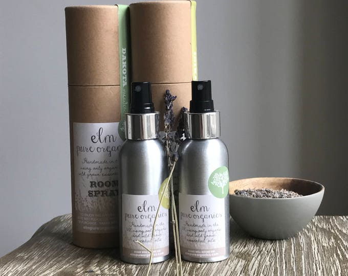 Inika. All Natural Organic Room Fragrance. Organic Essential Oils. Non -toxic Linen Spray, Pillow mist, Room Spray, Smudging spray. 100ml