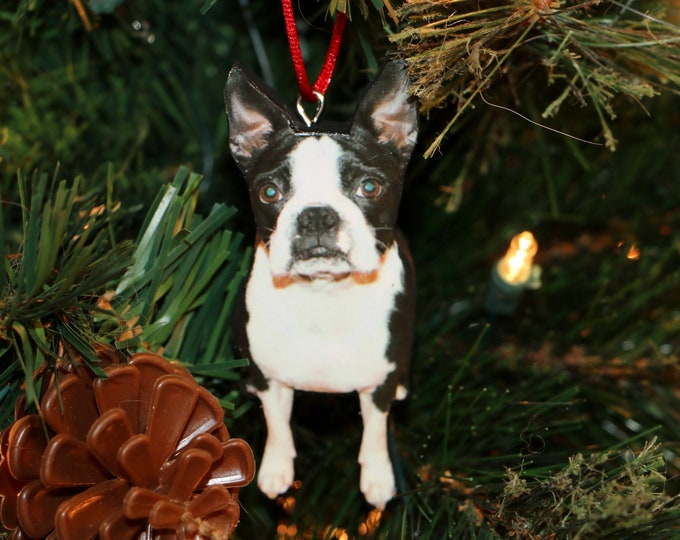 Featured listing image: Pet Photo Ornament, Photo Ornament of Dog,  Dog Photo Ornament Christmas, Photo Ornament Pet, Photo Ornament Personalized, Pet Memorial Gift