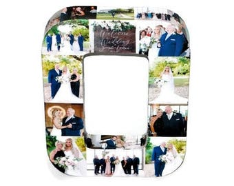 Wedding Centerpiece, Wedding Photo Display, Wedding Photo Album, Custom Photo Collage Letter, Custom Photo Display, Custom Photo Letters