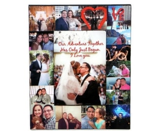 Valentines Day Gift for him boyfriend girlfriend Valentine's Frame Valentines Day Photo Frame for her Picture Frame Husband for my Wife