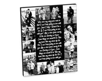 Valentine's Day Frame for Boyfriend Girlfriend | Valentine's Day Gift | Photo Frame for couple | Gift for him| Gift for her | Custom Poem