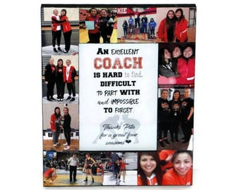 Wrestling coach Frame Wrestling Coach Thank you Gift An excellent coach is hard to find, difficult to part with and impossible to forget