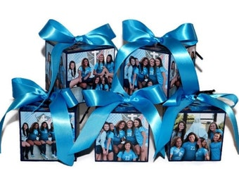 Team Gift Senior Night, Sports team gift, Team Photo Keepsake Ornament, Soccer gift, Cheer Gift, Coach Gift, Last home game, Senior Photos