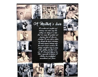 Mother's Day Gift   Mothers Day Frame   Mother Daughter   Mothers Day Poem   Gift for Mom   A Mother's Love   To my mom on Mothers Day Wife