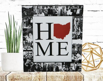 State to State, Home State Frame, Home with state gift, State home sign, Home sweet home, Moving Gift, Home is where the Heart is Frame,