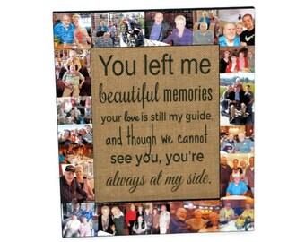 In loving Memory Frame, Sympathy Gift, In Memory of, Beautiful Memories Poem - Always at my side | Memorial Frame | Remembrance Gift