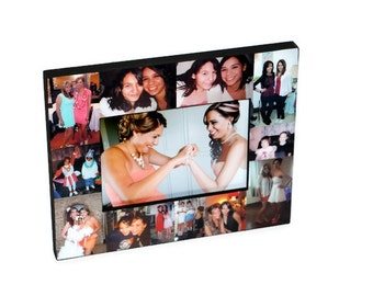 Bridesmade Gifts Picture Frame Collage Photo Frame Valentines Day gift,  gift for him her  To my Bride, To my husband Best Friend's Wedding