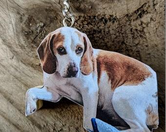Pet Photo Key chain, Photo Key Chain of Dog,  Dog Photo Key Chain Christmas, Photo Key chain Pet, Photo Ornament, Pet Memorial, Magnet