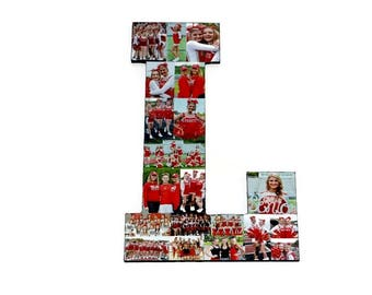 Senior Night Gift | Volleyball Gift | Photo Collage Letter | Letter Photo Collage | Picture Collage | Letter with Pictures | Last home game