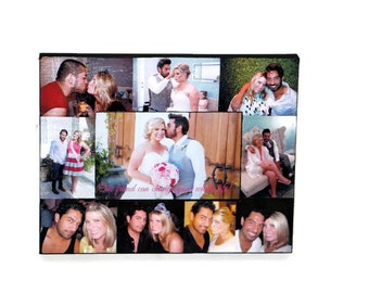 Valentines Day Picture Frame Collage Photo Frame Valentines Day gift, Valentines gift for him her I love you To my Bride, To my husband