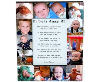 My Mommy MD Frame, Mommy M.D. poem, My Mommy, D.O. I love you Mommy, Doctor Mommy Poem Frame, Medical Graduation, Mother's Day