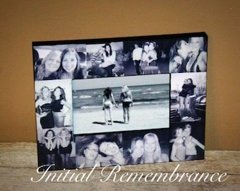 Picture Frame Custom Collage Personalized Gift Sister Bridesmaid Maid of Honor Best Friends Parent Boyfriend Girlfriend Father's Day Photo