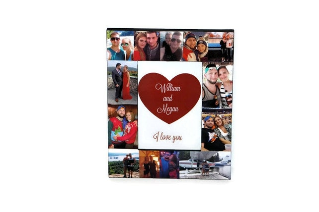 Boyfriend Photo Frame Gift For Him Girlfriend Gift For Her Picture