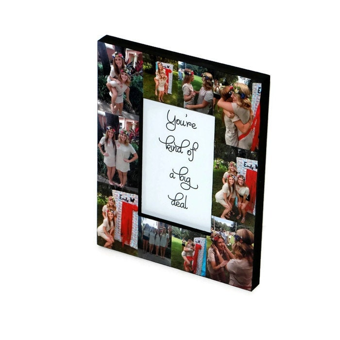 Big Little Sorority Sister Gift Frame Collage Photo Frame Best ...