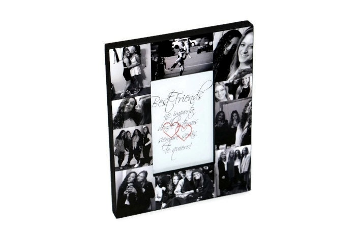 Bachelorette party Best Friend Picture Frame, Picture Frame Collage ...