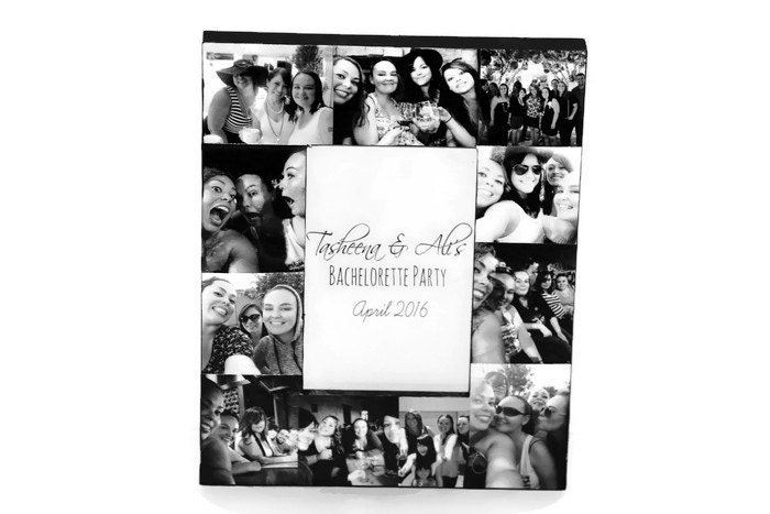 Bachelorette Party Best Friend Picture Frame Picture Frame Collage