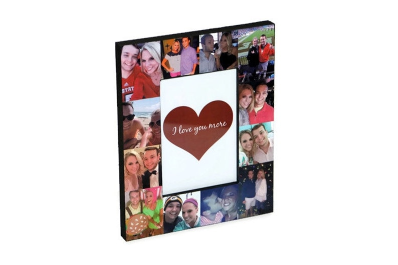 Valentine/'s Day Photo Frame Gift for him Gift for her Picture Frame collage Valentines Day quote Card Valentine Poem boyfriend girlfriend