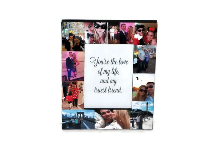 I Love You To The Moon And Back Frame Collage Picture Photo Frame