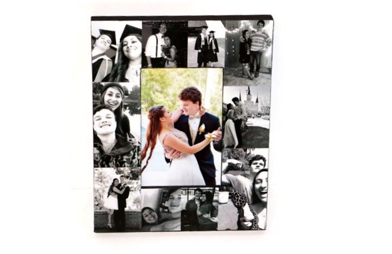 Unique Maid of Honor Gift Custom Quote Best Friends Gift Personalized Photo Collage Frame Sister Gift Unique Birthday Gift