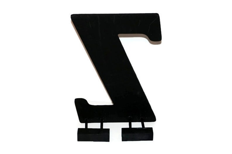 Stand for 18 Number and Letters image 0