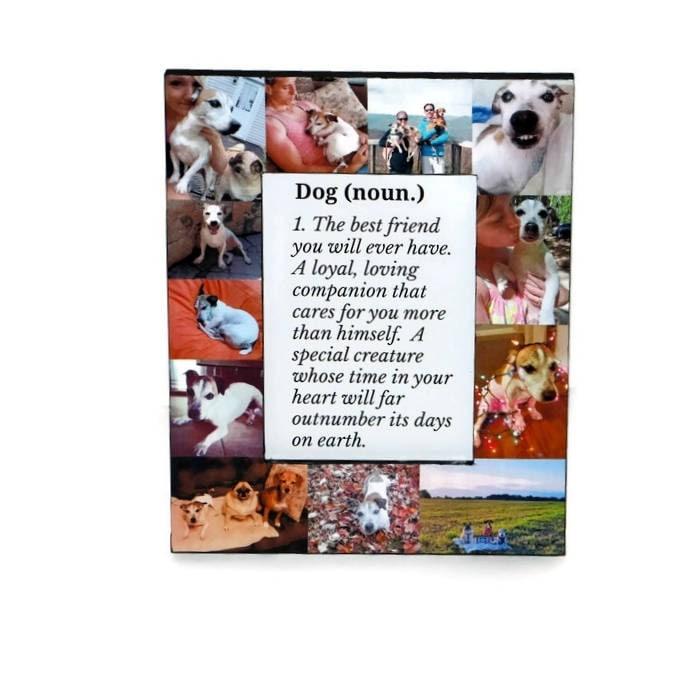Definition of a Dog | Man\'s Best Friend | Pet Memorial Frame | Pet ...