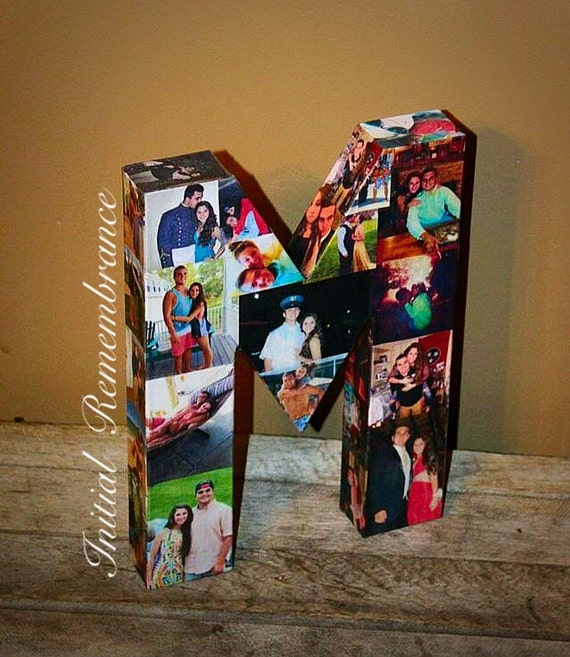 3d Picture Frame Photo Letter Collage Gift Children S Etsy