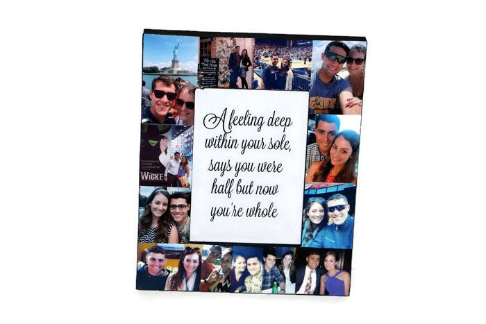 Anniversary Picture Frame Photo Frame Corinthians 13 4 8 1 Year