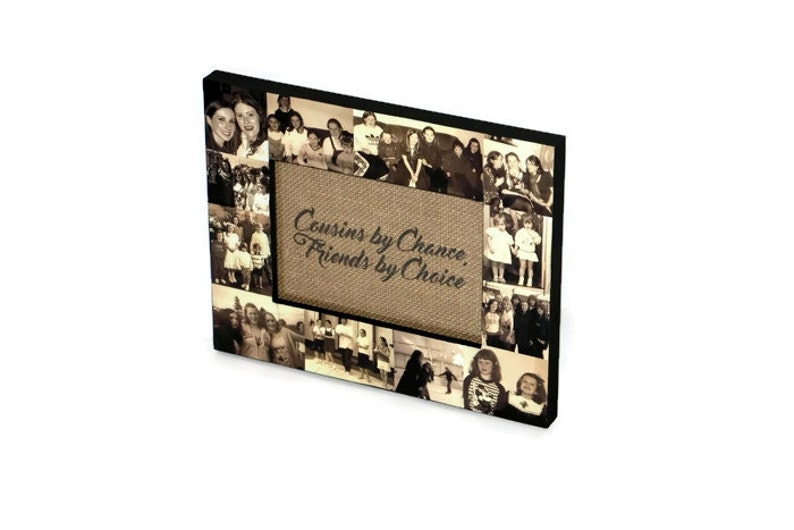 30995fd61cdd Personalized Gift Sister Cousin Picture Frame Custom Collage
