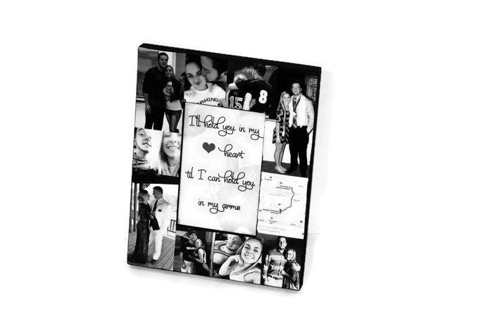 Boyfriend Best Friend Picture Frame Collage Photo Frame Unique Gift ...