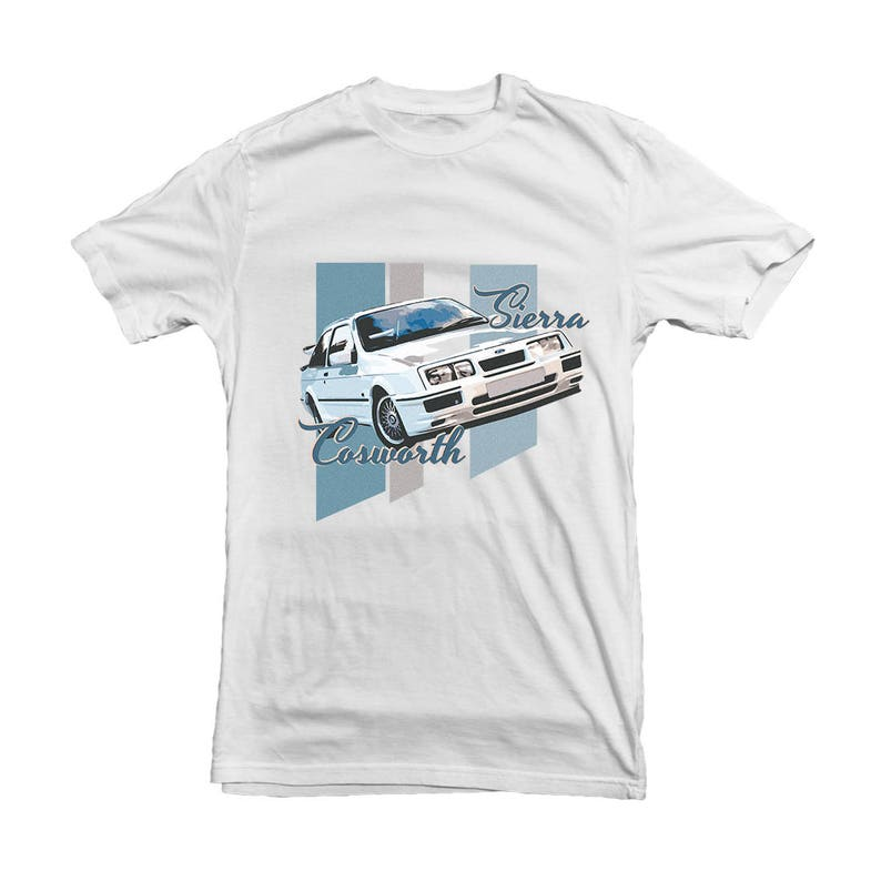 87298bc27 Ford Sierra Cosworth Classic Car T-shirt for your Dad | Etsy