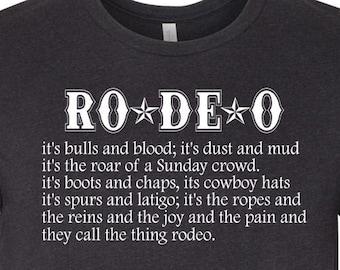 Rodeo Lyrics Tee