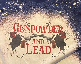 Gunpowder and Lead Tee